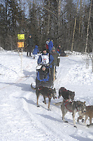 Robert Nelson Anchorage Start Iditarod 2008.