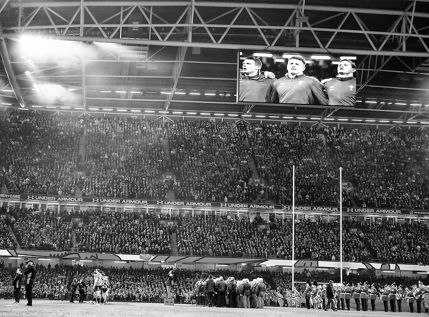 A general view of Millennium Stadium, Cardiff, home of Wales<br /> <br /> Photographer Simon King/CameraSport<br /> <br /> International Rugby Union - RBS 6 Nations Championships 2016 - Wales v Italy - Saturday 19th March 2016 - Principality Stadium, Cardiff <br /> <br /> &copy; CameraSport - 43 Linden Ave. Countesthorpe. Leicester. England. LE8 5PG - Tel: +44 (0) 116 277 4147 - admin@camerasport.com - www.camerasport.com