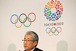 Tsunekazu Takeda, NOVEMBER 15, 2013 : Japanese Olympic Committee (JOC) President Tsunekazu Takeda attend the press conference after the IOC/Tokyo 2020 Orientation Seminar for Tokyo Olympic Games 2020 at JISS, Tokyo, Japan. (Photo by Yusuke Nakansihi/AFLO SPORT) [1090]