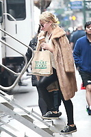 APR 04 Hilary Duff Seen In New York City