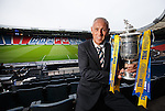 William Hill Scottish Cup 5th Round draw. Hampden Park: Mark Hateley from Rangers