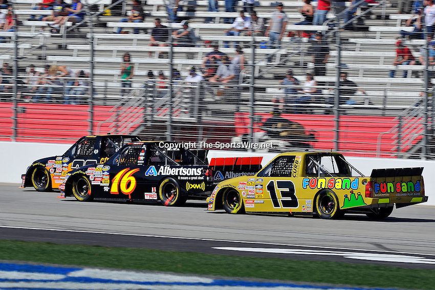 Mar 07, 2009; 2:44:55 PM; Hampton, GA, USA; NASCAR Camping World Truck Series race for the American Commercial Lines 200 at the Atlanta Motor Speedway.  Mandatory Credit: (thesportswire.net)
