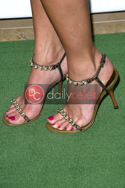 Jasmine Waltz's shoes<br />at the 'Building A Greater Los Angeles' Gala. Beverly Hilton Hotel, Beverly Hills, CA. 10-01-08<br />Dave Edwards/DailyCeleb.com 818-249-4998