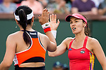 HIngis and Chan defeated Bethanie Mattek-Sands  and Lucie Safarova  7-6 (9-7), 7-5.'