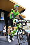 Pierre Rolland (FRA) Cannondale Drapac at sign on in Dusseldorf before the start of Stage 2 of the 104th edition of the Tour de France 2017, running 203.5km from Dusseldorf, Germany to Liege, Belgium. 2nd July 2017.<br /> Picture: Eoin Clarke | Cyclefile<br /> <br /> <br /> All photos usage must carry mandatory copyright credit (&copy; Cyclefile | Eoin Clarke)