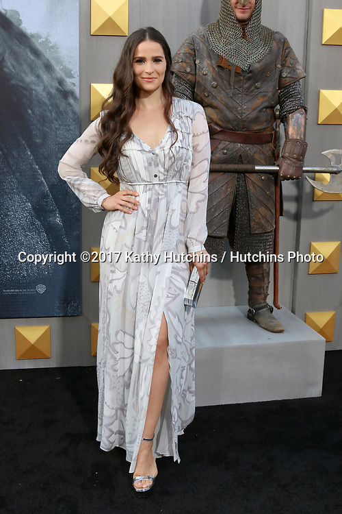 """LOS ANGELES - MAY 8:  Gianna Simone at the """"King Arthur Legend of the Sword"""" World Premiere on the TCL Chinese Theater IMAX on May 8, 2017 in Los Angeles, CA"""