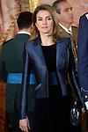 Princess Letizia of Spain during the Pascua Militar ceremony.January 06 ,2014. (ALTERPHOTOS/Pool)