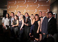 September 15 2013 -  Louis Morisette and the BYE BYE 2012 team <br />  attend the GEMEAUX Gala.