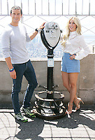 NEW YORK, NY-July 11: Bear Grylls, Julianne Hough promote the 2nd season of  NBC's series Running Wild with Bear Grylls at Empire State Building Observation Deck in New York. NY July 11, 2016. Credit:RW/MediaPunch