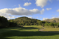 The 17th during the Pro-Am of the Challenge Tour Grand Final 2019 at Club de Golf Alcanada, Port d'Alcúdia, Mallorca, Spain on Wednesday 6th November 2019.<br /> Picture:  Thos Caffrey / Golffile<br /> <br /> All photo usage must carry mandatory copyright credit (© Golffile | Thos Caffrey)