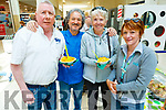 Sampling Carlos's Seafood and Paella at the Manor West Food and Craft Fair on Saturday.<br /> L to r: Phil O'Connell, Maura McCarthy, Bernadette O'Regan and Carlos Luque.