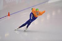 SCHAATSEN: HEERENVEEN: IJsstadion Thialf, 18-11-2012, Essent ISU World Cup, Season 2012-2013, Men 1500 meter Division A, Kjeld Nuis (NED), ©foto Martin de Jong