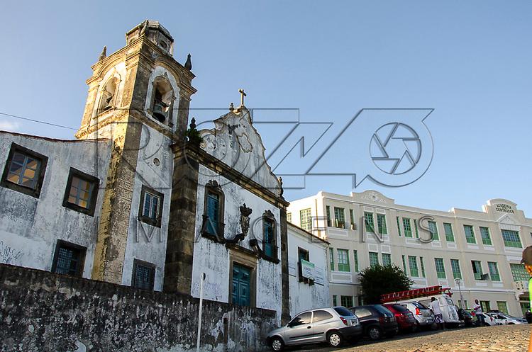 Igreja da Misericórdia no centro histórico da cidade, reconstruída em 1654, Olinda - PE, 12/2012.