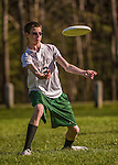 7 May 2014: The Vermont Commons School Flying Turtles play the Rice Memorial High School Green Knights in the at the Farrell Park in South Burlington, Vermont. Mandatory Credit: Ed Wolfstein Photo *** RAW (NEF) Image File Available ***