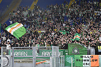 7th November 2019, Rome, Italy; UEFA Europa League football , group stages, Lazio versus Glasgow Celtic; Fans show their support - Editorial Use