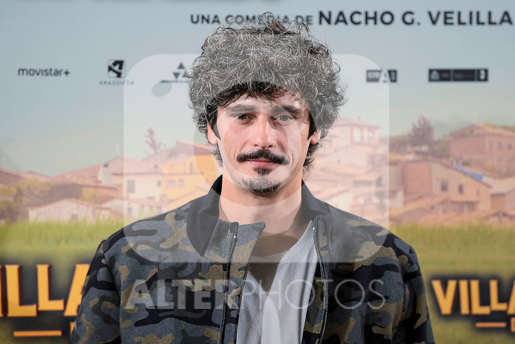 """Antonio Pagudo attends to the presentation of the spanish film """" Villaviciosa de al lado"""" in Madrid, Spain. November 29, 2016. (ALTERPHOTOS/BorjaB.Hojas)"""