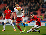 James O'Brien of Coventry City disposed by Dean Hammond of Sheffield Utd - English League One - Sheffield Utd vs Coventry City - Bramall Lane Stadium - Sheffield - England - 13th December 2015 - Pic Simon Bellis/Sportimage-