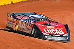 Feb 07, 2014; 11:39:12 AM; Waynesville, GA., USA; The Lucas Oil Late Model Dirt Series running The Georgia Boot Super Bowl of Racing at Golden Isles Speedway.  Mandatory Credit: (thesportswire.net)