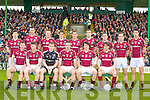 The Galway team who were beaten by Kerry in the Allianz GAA Football National League at Austin Stack Park on Sunday.