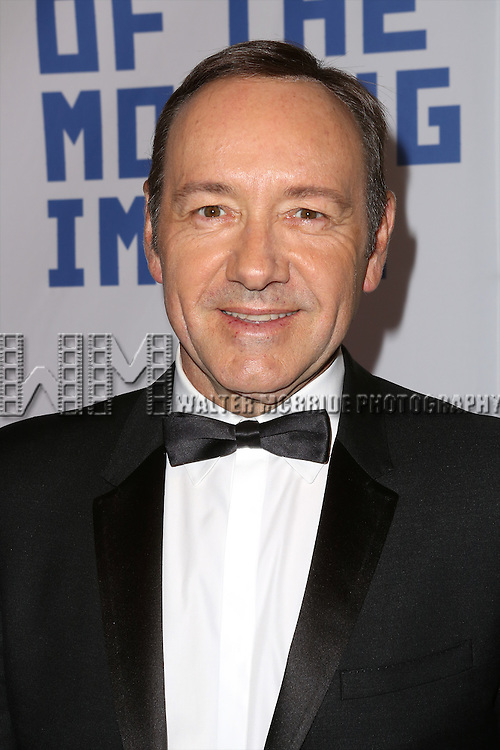 Kevin Spacey attends The Museum of Moving Image Award honoring Kevin Spacey at 583 Park on April 9, 2014 in New York City.