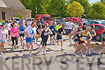 THERE OFF: The start of the Irish Heart Foundation mini marathon at the Brandon hotel on Sunday.