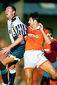 Tony Ellis home debut against former club