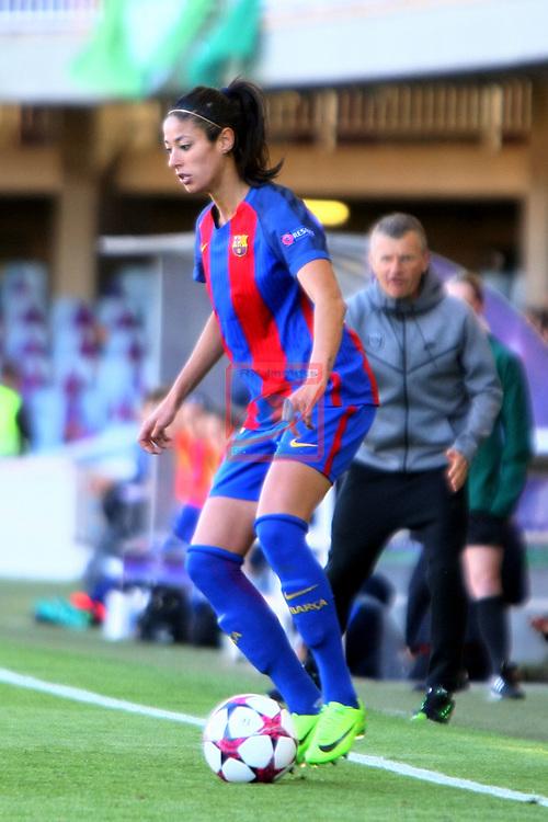 UEFA Women's Champions League 2016/2017.<br /> Semifinals.<br /> FC Barcelona vs Paris Saint Germain: 1-3.<br /> Leila Ouahabi.