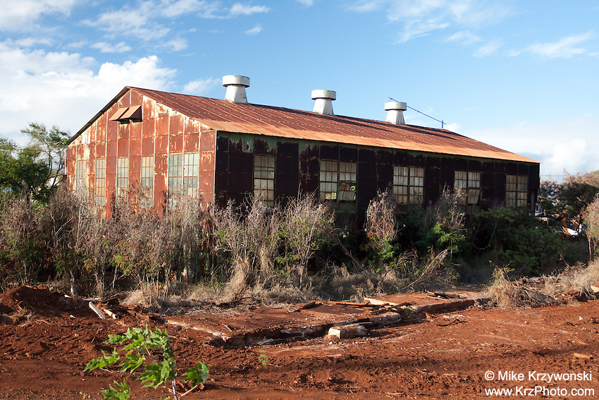 Abandonded Industrial Building, Maui, Hawaii