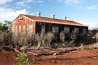 Abandonded Industrial Building, Maui, Hawaii