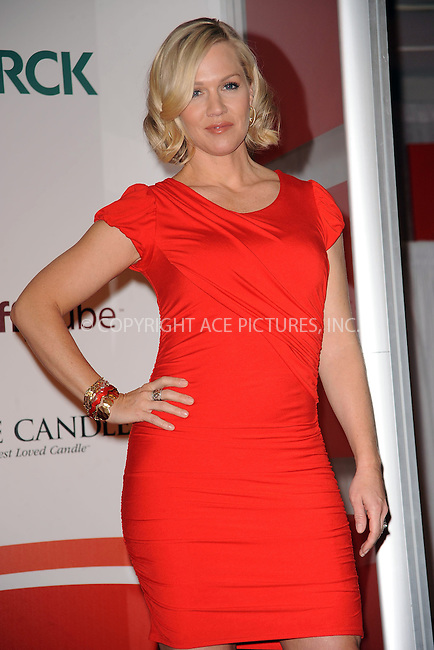 WWW.ACEPIXS.COM . . . . . ....February 5 2010, New York city....Actress Jennie Garth appeared at the Go Red for Women National Casting Call at Macy's Herald Square on February 5, 2010 in New York City. ....Please byline: KRISTIN CALLAHAN - ACEPIXS.COM.. . . . . . ..Ace Pictures, Inc:  ..(212) 243-8787 or (646) 679 0430..e-mail: picturedesk@acepixs.com..web: http://www.acepixs.com