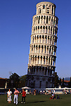 Europe, ITA, Italy, Tuscany, Pisa, Leaning Tower of Pisa, Campanile, Tourists....[ For each utilisation of my images my General Terms and Conditions are mandatory. Usage only against use message and proof. Download of my General Terms and Conditions under http://www.image-box.com or ask for sending. A clearance before usage is necessary...Material is subject to royalties. Each utilisation of my images is subject to a fee in accordance to the present valid MFM-List...Contact | archive@image-box.com | www.image-box.com ]