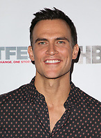 "WEST HOLLYWOOD, CA July 11- Cheyenne Jackson,  At 2017 Outfest Los Angeles LGBT Film Festival Screening of ""Hello Again"" at The DGA Theater, California on July 11, 2017. Credit: Faye Sadou/MediaPunch"