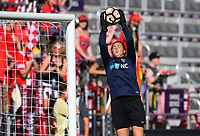 Orlando, FL - Saturday October 14, 2017:  Katelyn Rowland during the NWSL Championship match between the North Carolina Courage and the Portland Thorns FC at Orlando City Stadium.