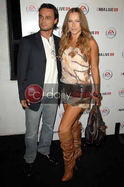 Alec Mazo and Edyta Sliwinska<br />at the Launch Party for NBA Live 09. Beso, Hollywood, CA. 09-26-08<br />Dave Edwards/DailyCeleb.com 818-249-4998