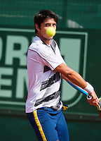 10-07-13, Netherlands, Scheveningen,  Mets, Tennis, Sport1 Open, day three, Paul Capdeville (CHI)<br />