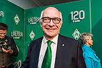 04.02.2019, Dorint Park Hotel Bremen, Bremen, GER, 1.FBL, 120 Jahre SV Werder Bremen - Gala-Dinner<br /> <br /> im Bild<br /> Klaus-Dieter Fischer (Ehrenpraesident Werder Bremen), <br /> <br /> Der Fussballverein SV Werder Bremen feiert am heutigen 04. Februar 2019 sein 120-jähriges Bestehen. Im Park Hotel Bremen findet anläßlich des Jubiläums ein Galadinner statt. <br /> <br /> Foto © nordphoto / Ewert