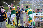 Kerry footballers Kieran Donaghy, Darran O'Sullivan, Marc O'Se and Barry John Keane enjoying a light hearted moment at  the senior football challenge match between Kerry and Kildare at the Ballymacelligott GAA Club official pitch reopening at the weekend. Picture: Eamonn Keogh (MacMonagle, Killarney)