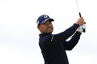 Uusaku Miyazato (JPN) tees off the 14th tee during Thursday's Round 1 of the 2018 Dubai Duty Free Irish Open, held at Ballyliffin Golf Club, Ireland. 5th July 2018.<br /> Picture: Eoin Clarke | Golffile<br /> <br /> <br /> All photos usage must carry mandatory copyright credit (&copy; Golffile | Eoin Clarke)