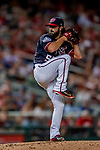 21 September 2018: Washington Nationals pitcher Tim Collins on the mound against the New York Mets at Nationals Park in Washington, DC. The Mets defeated the Nationals 4-2 in the second game of their 4-game series. Mandatory Credit: Ed Wolfstein Photo *** RAW (NEF) Image File Available ***