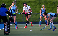 Amy Robinson. Action during the Auckland Intercity Women's top four Hockey match between Howick-Pakuranga and Somerville, Lloyd Elsmore Park, Auckland, New Zealand. Saturday 5 August 2017. Photo:Simon Watts / www.bwmedia.co.nz