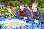 Donal McCarthy (left) and Henry Reidy Kenmare who drove in the Rally of the Lakes over the weekend   Copyright Kerry's Eye 2008