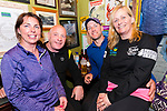 Mary and Bernard Kelly with Kieran and Helen Finn (Fenit) relaxing after the Dingle Way Challenge organized by St. Pats GAA Club.