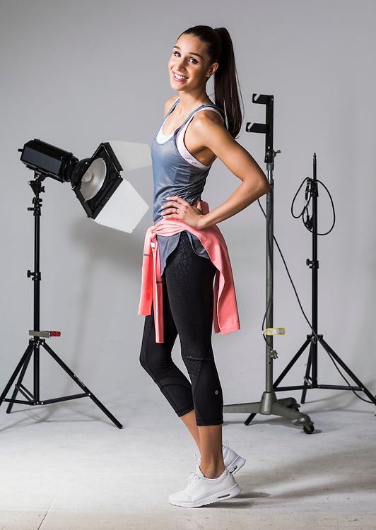 Sunday Mail Fashion, Activware with Kayla Itsines. Photo: Nick Clayton