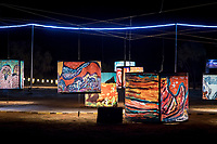 Parrtjima, a festival in Light, Alice Springs, Australia 2017. September 21, 2017. James Horan Photography for Tourism NT