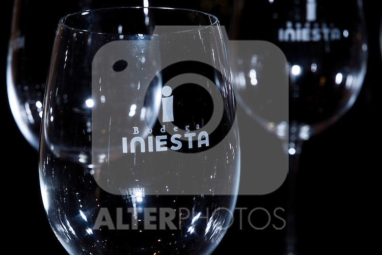 23.07.2012. Wineries Iniesta in Fuentealbilla (Albacete-Spain). Belonging to the family Iniesta Luján which is part Andres Iniesta, player of FC Barcelona and the Spanish football team. (Alterphotos/Marta Gonzalez)