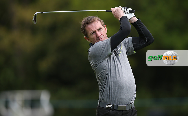 AP McCoy during the Pro-Am ahead of the 2015 BMW PGA Championship over the West Course at Wentworth, Virginia Water, London. Picture David lloyd, www.golffile.ie: 20/05/2015