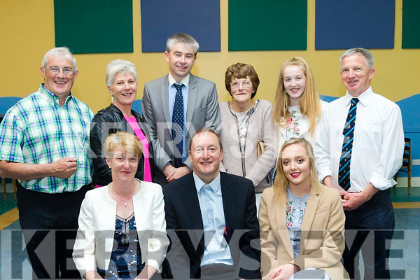 New Post<br /> -------------<br /> Rev Jim Stephans, seated centre, will be the new priest in charge of Tralee&amp;Dingle parishes was welcomed to Tralee last Saturday night in St John's, Ashe St parish hall, also seated is his wife Elsie and daughter Ava, back L-R John O'Grady, Deirdre O'Sullivan, Niall Groves, Elizabeth&amp;Isabel Stephans with David Tough.