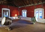 WHORLED EXPLORATIONS - Kochi Muziris Biennale 2014 - Bharti Kher work.