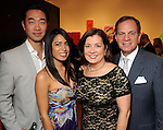 From left: Dr. Patrick Hsu and  Majken Rodriguez with Barbara and Dr. Mark Schusterman at the Art4Life Gala at the Station Museum Saturday Jan. 22,2011.(Dave Rossman/For the Chronicle)