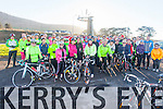 Just over 60 cyclists took part in a 30k cycle from Cahersiveen to Portmagee and back in aid of Alzheimer's Ireland on Sunday 28th December.